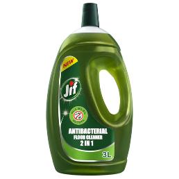 Jif 2 In 1 Antibacterial Floor Cleaner 3L