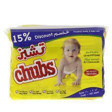 Chubs Baby Wipes 2x80s