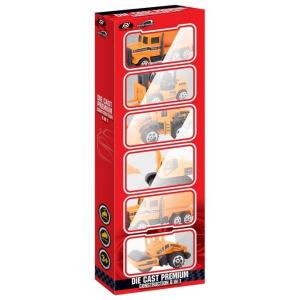 Power Joy Vroom Diecast Premium 6 In 1 1pc