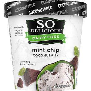 Danone So Delicious Dairy Free Ice Cream Coconut Mint Chip 16oz