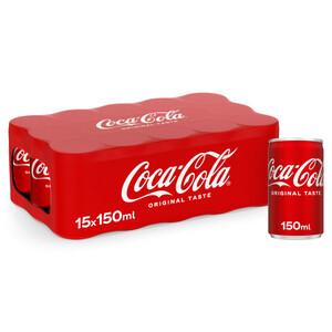 Coca Cola Can 15x150ml