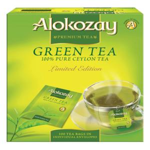 Alokozay Green Tea Bag 100s