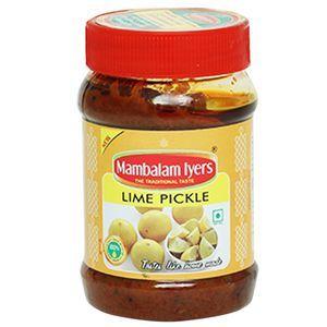 Mambalam Iyer Lime Pickle 200g