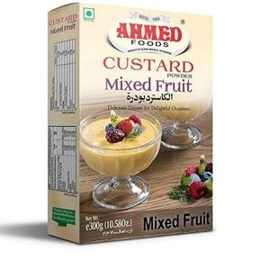 Ahmed Custard Mix Fruit 300g
