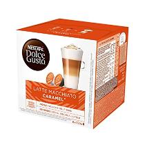 Nescafe Dolce Gusto Caramel Latte Macchiato Coffee Capsules 16 Capsules 3pcs