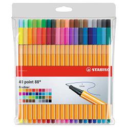 Stabilo Point Erasable Wallet 5 Colors 5s