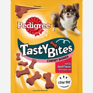 Pedigree Tasty Bites Bones Beef 50g
