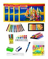 Focus A4 Drawing Book + 12Crayon + Student Set 1set