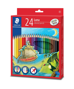 Staedtler Luna Colouring Pencils 24 Colors 3packs