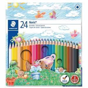 Staedtler Color Pencils + Sketch Book 24pcs