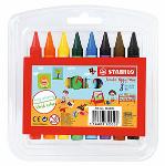 Stabilo Yippy Wax + Jumbo Wax Crayon 12pcs