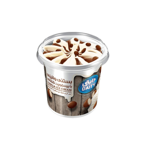 Daity Vanilla Ice Cream Tub With Biscuits 600g
