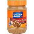 American Garden Creamy Peanut Butter 2x16oz