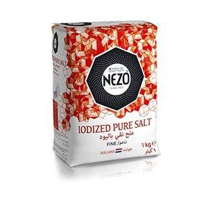 Nezo Red Salt + Iodized Salt 3x1kg + 125g