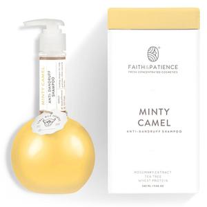 Camellure Camel Milk Shampoo Dual Green Tea + Dry Hair 2x11s