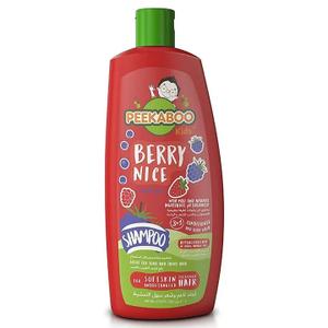 Peekaboo 3 In 1 Shampoo Berry Nice 400ml