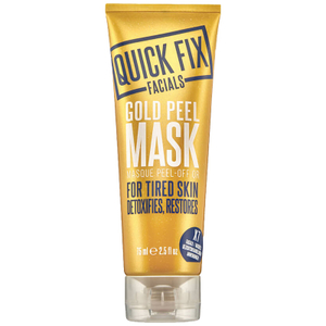 Quick Fix Face Mask Gold Metallic 75ml