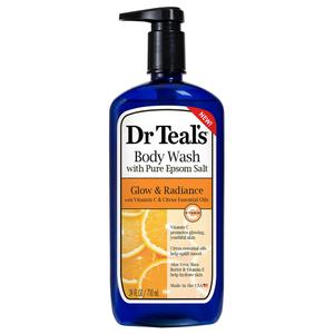 Dr Teal's Epsom Salt Body Wash Vitamin C & Citrus Oils 710ml