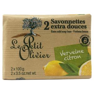 Le Petit Olivier Lemon Soap 2x100g