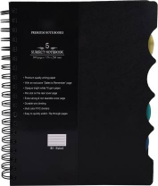 Atlas A5 Double Wire Note Pad 1pc