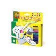 Ses Textile Markers 8packs