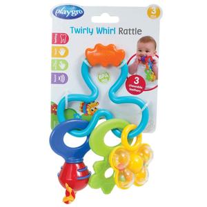 Playgro Twirly Whirly Rattle 1pc