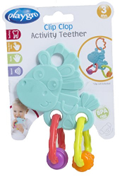 Playgro Clip Clop Activity Teether 1pc
