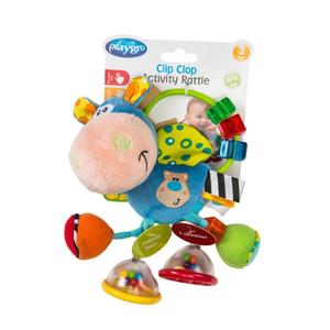 Playgro Toy Box Clip Clop Activity Rattle 1pc