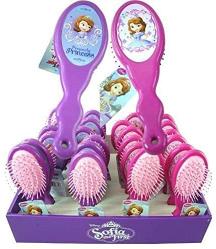 Disney Princes Sofia D First Hair Brush 9x21.5x3cm 1pc