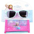 Disney Frozen Kids Girls Sunglasess With Wallet Set 1pc