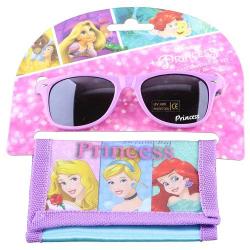 Disney Princess Kids Girls Sunglasess With Wallet Set 1pc
