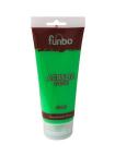Funbo Acrylic Paint Tube 207 Fluorecnt Green 200ml