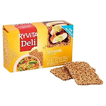 Ryvita Sesame Crispy Bread 250g