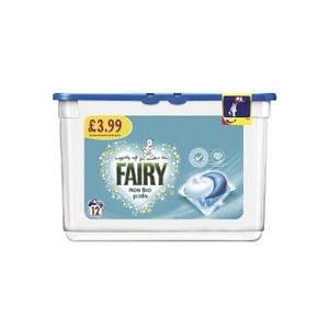 Fairy Detergent Pods Non Bio Sensitive 12s