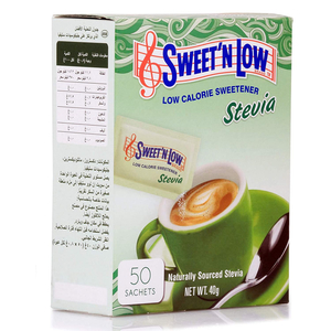 Sweet'N Low Stevia Sweetener 40g