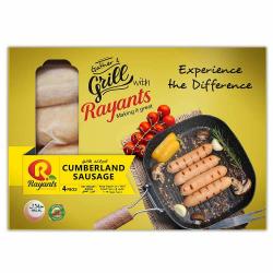 Rayants Cumberland Sausage 300g