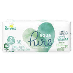 Pampers Sensitive Baby Wipes Aqua Pure 70s