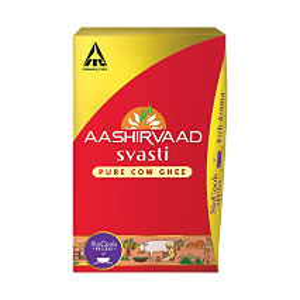 Aashirvaad Svasti Pure Cow Ghee 500ml