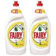 Fairy Dishwashing Liquid 2x1L