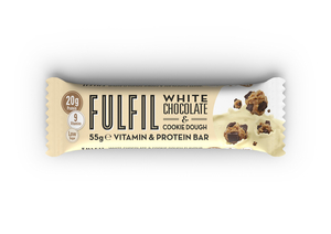 Fulfil Vitamin And Protein Bar White Chocolate And Cookie Dough 55g