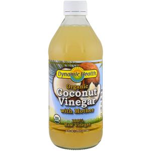 Dynamic Health Organic Coconut Cider Vinegar 473ml
