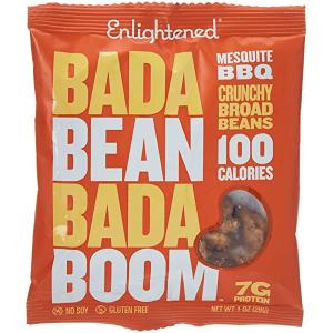 Enlightened Bada Bean Snacks Mesquite Barbeque 28g