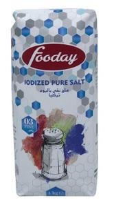 Fooday Iodized Pure Salt 1kg