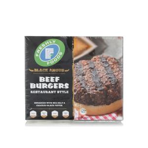 FFF Beef Burger Black Angus 454g