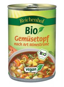 Reichenhof Bio Vegetable Soup Minestrone 400g