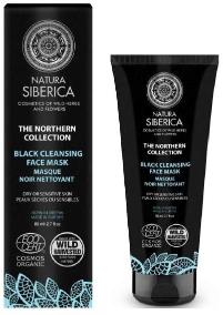 Natura Siberica Organic Face Mask Black Cleansing 80ml