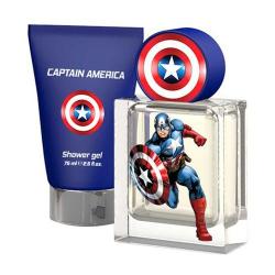 Disney Eau De Toilette Captain Amrica +Shower Gel 50+75ml