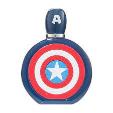 Disney Eau De Toilette Captain America +Shower Gel +Asb 100ml