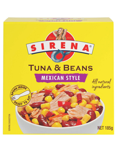 Sirena Tuna And Beans Mexican Style 185g