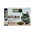 Pets Choice Webbox Natural Cat Mixed Jelly Selection 1.2kg